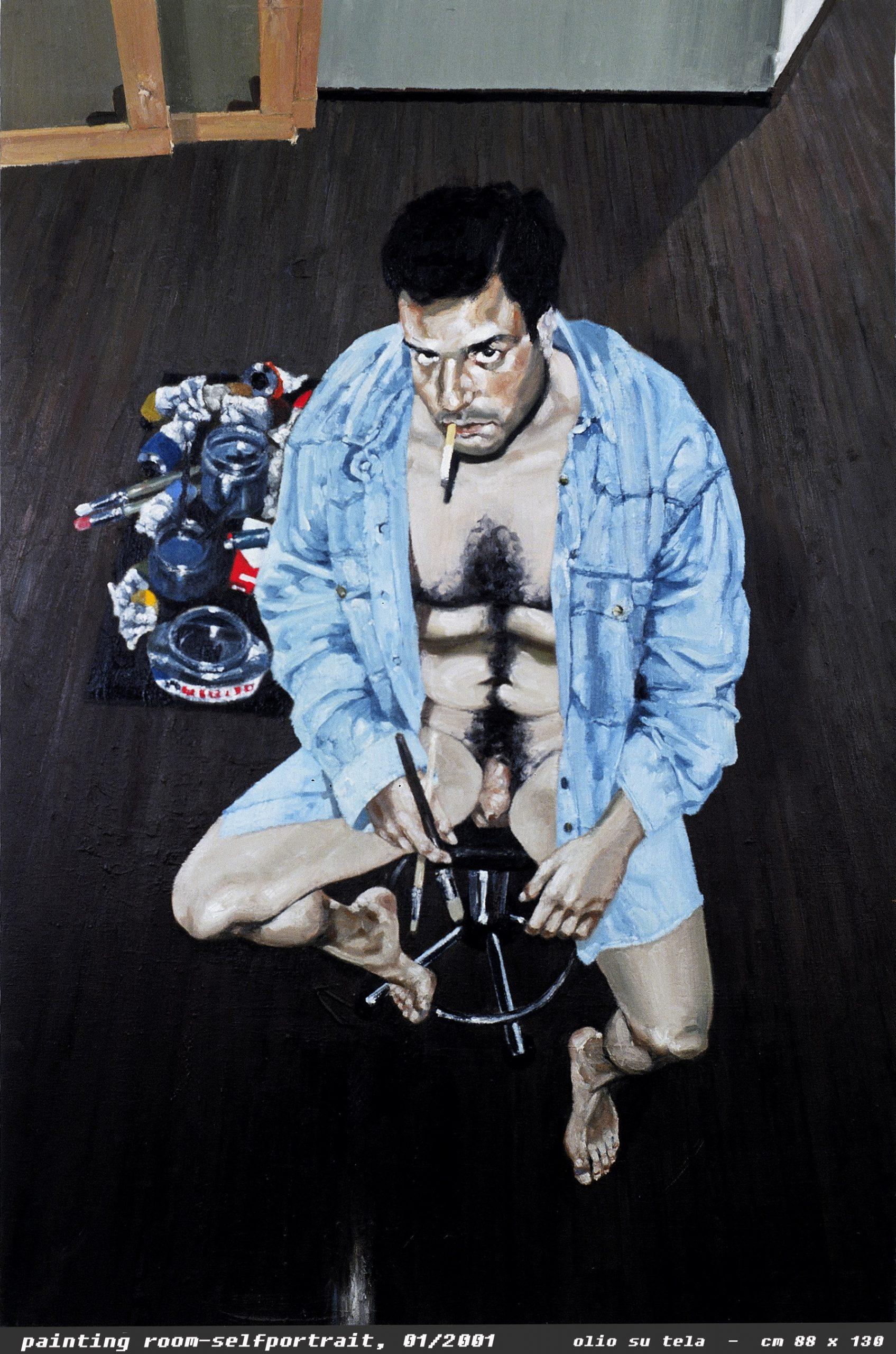 Autoritratto di Raffaele Pezzuti